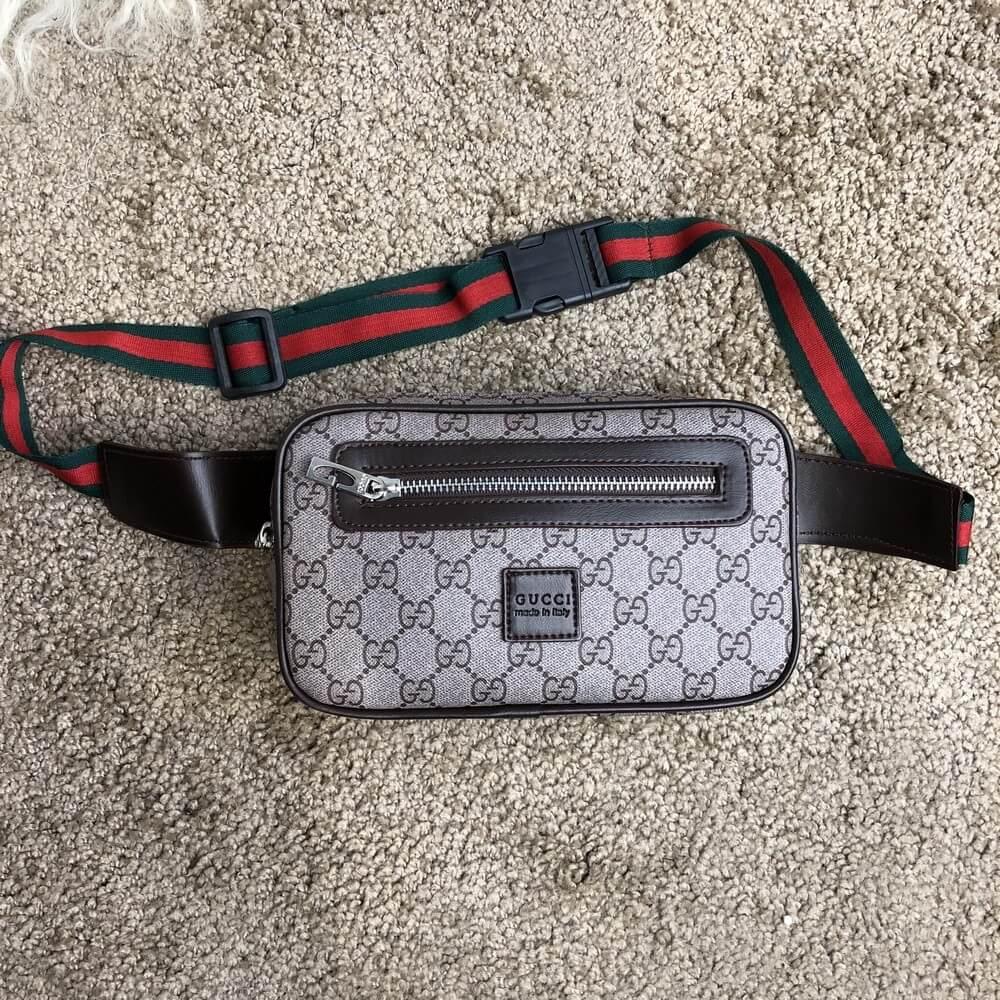 Gucci Belt Bag Soft GG Supreme Gray