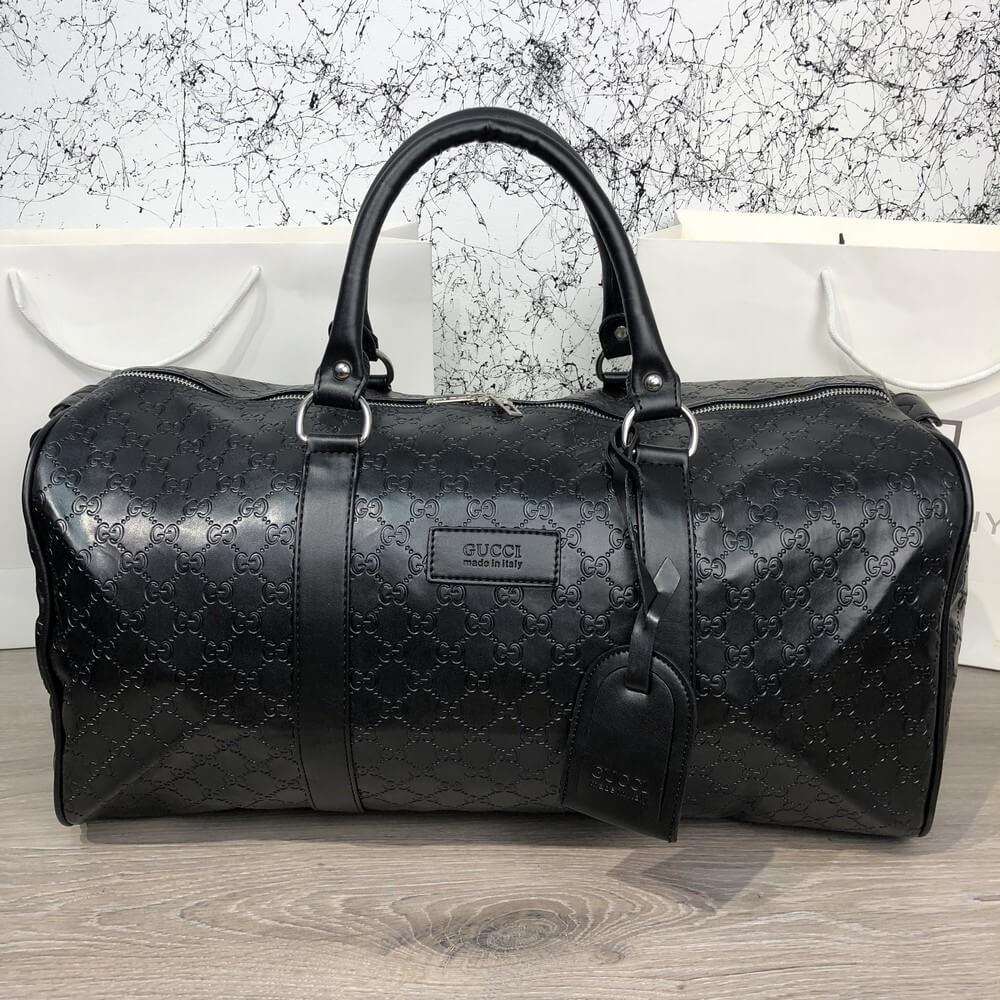 Softsided Luggage Gucci GG Supreme Black
